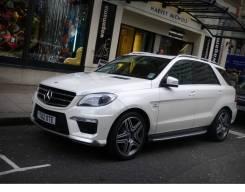 Обвес кузова аэродинамический. Mercedes-Benz M-Class, W166. Под заказ