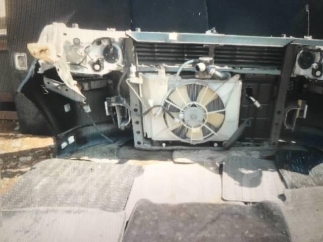 Передняя часть : Toyota bb рестайлинг ксенон губа