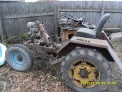 Самодельная модель. Трактор самодельный минитрактор ТОРГ ЕСТЬ !, 1 000 куб. см.