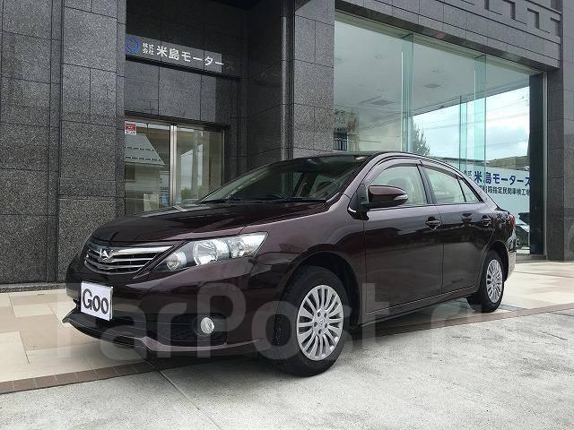 Toyota Allion. автомат, передний, 1.8, бензин, 27тыс. км, б/п. Под заказ