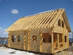 Построю баню, дом из бруса, фундамент, крышу, забор