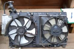 Радиатор охлаждения двигателя. Honda Fit