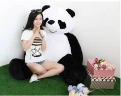 Плюшевый медведь мягкая панда 180 см 140 шт Круглосуточно