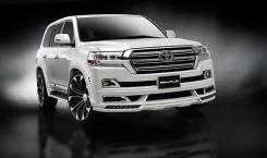 Обвес кузова аэродинамический. Toyota Land Cruiser, URJ202W, URJ202, J200, VDJ200 Двигатели: 1URFE, 3URFE, 1VDFTV. Под заказ
