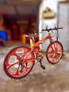 Горный велосипед OYMA (складной) на дисках ! Акция!
