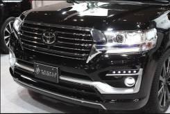 Обвес кузова аэродинамический. Toyota Land Cruiser, URJ202W, URJ202, VDJ200 Двигатели: 1URFE, 1VDFTV. Под заказ