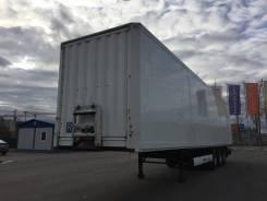 Krone SD. Полуприцеп изотермический фургон цельнометаллический, 31 670 кг.