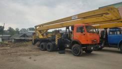 КамАЗ 53212. Продается автовышка КаМаз 53212, 4 600куб. см., 28м. Под заказ