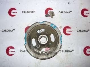 Шкив коленвала. Toyota: Carina, Sprinter, Corsa, Corona, Caldina, Corolla II, Paseo, Corolla, Tercel, Raum, Cynos, Starlet Двигатели: 3E, 2E, 2ELU, 4E...