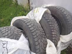 Dunlop SP Winter ICE 02. Зимние, шипованные, износ: 10%, 4 шт