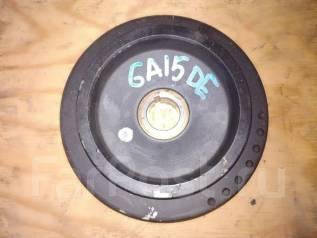 Шкив коленвала. Nissan: Wingroad, Sunny California, Lucino, Presea, Rasheen, AD, Pulsar, Almera, Sunny Двигатели: GA15DE, GA13DE, GA16DE, CD20, GA14DE...