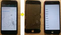 Восстановление дисплеев, замена стекла на iPhone, Samsung