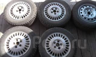 Колёса шины диски 4+1шт Cordiant Sno-Max 195/65/15 шипы в наличии. 6.0x15 5x114.30 ET58 ЦО 62,0мм. Под заказ