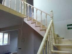 Монтаж и установка деревянных лестниц