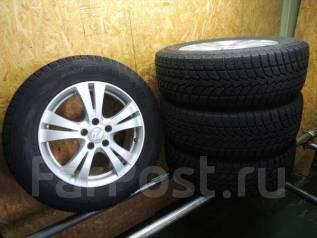 Отличный комплект зимних колес 225/65R17 без пробега по РФ. 7.0x17 5x114.30 ET33 ЦО 62,0мм.