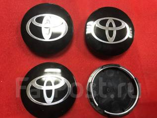 "Колпачки ( заглушки) на литье Toyota. Диаметр 4"", 3 шт."