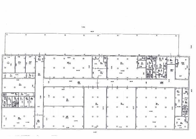Сдается в аренду капитальный склад 2,000-4,600 кв. м. на Второй речке. 4 600 кв.м., улица Енисейская 32, р-н Вторая речка. План помещения