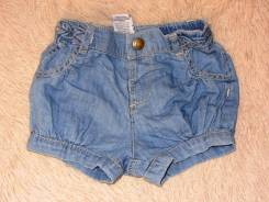 Шорты джинсовые. Рост: 50-56, 62-68 см