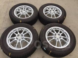 195/65 R15 Bridgestone Blizzak Revo2 литые диски 5х100 (K10-1521). 6.0x15 5x100.00 ET45