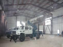 Випо-24. Автогидроподъемник ВИПО-24-01 на шасси ГАЗ-33086 (4х4) 5м. кабина, 4 300 куб. см., 24 м.
