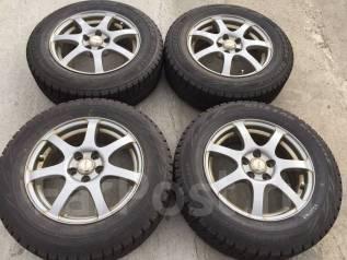 195/65 R15 Bridgestone Blizzak Revo GZ литые диски 5х100 (K10-1523). 6.0x15 5x100.00 ET43