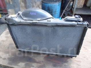 Радиатор охлаждения двигателя. Toyota Mark II Wagon Blit, JZX110 Toyota Verossa, JZX110 Двигатель 1JZFSE