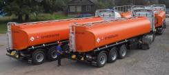 Капри. Продается новый бензовоз объемом 29 500 литров, 4 секции, 1 000 куб. см., 29,50куб. м.
