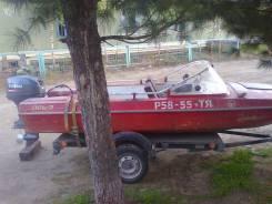 Обь-3. Год: 1986 год, длина 4,30м., двигатель подвесной, 40,00л.с., бензин