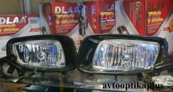 Фара противотуманная. Mitsubishi Pajero, V63W, V64W, V65W, V66W, V68W, V73W, V74W, V75W, V76W, V78W Mitsubishi Montero, V63W, V64W, V65W, V66W, V68W...