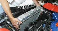 Установка радиаторов охлаждения и радиаторов кондиционера автомобилей