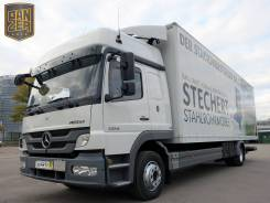 Mercedes-Benz Atego. Мерседес Атего 1224, фургон 8.5м, ворота+гидролифт, без пробега по РФ, 6 374 куб. см., 7 000 кг.