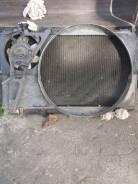 Радиатор охлаждения двигателя. Toyota Mark II, GX81 Двигатель 1GGZE