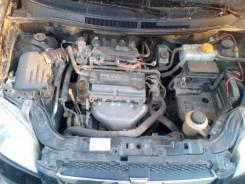Двигатель в сборе. Chevrolet Aveo Двигатель B12D1