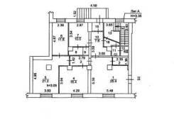 5-комнатная, улица Кирова 91. Больница, частное лицо, 120 кв.м. План квартиры