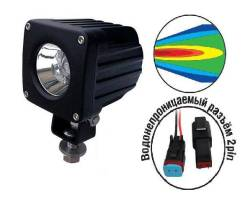 "Фара светодиодная ""Off-road"" AVS Light SL-1237A (SL-1410A) (10W)"