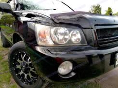 Накладка на фару. Toyota Kluger V, MCU25W, ACU25W, MCU20, ACU20, ACU20W, MCU20W, ACU25, MCU25 Toyota Highlander, MCU20, ACU20, MCU21, MCU25, MCU26, AC...