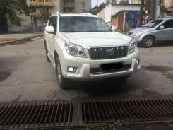 Накладка на решетку бампера. Toyota Land Cruiser Prado, TRJ150W, TRJ150