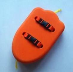 Буй-плот оранжевый 49*32 (EVA)