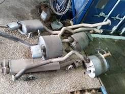 Выхлопная система. BMW X5, E53 Двигатель M62B46