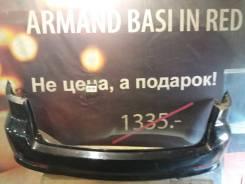 Задний бампер Mazda Atenza Wagon GG/GY чёрный