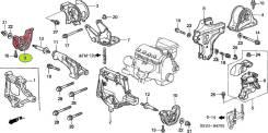 Подушка двигателя. Honda: Ballade, CR-X del Sol, Civic, CR-X, Civic CRX, Domani, Civic Ferio, Partner, HR-V, Orthia, CR-V, S-MX, Integra SJ, Integra...