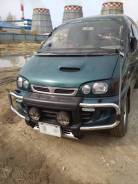 Фара. Mitsubishi Delica