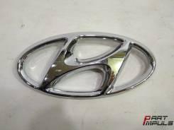 Эмблема решетки. Hyundai Santa Fe, DM
