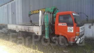 Hino Ranger FC. Продам грузовик с краном, 6 100 куб. см., 5 000 кг.