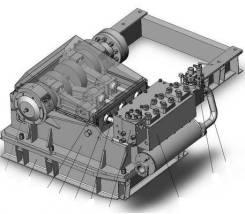 Г 305 Насос горизонтальный трехплунжерный модели Г 305М(А)