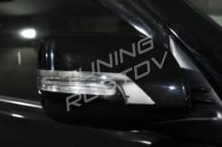 Накладка на зеркало. Toyota Land Cruiser Prado, GDJ150L, GDJ150W, GDJ151W, GRJ150, GRJ150L, GRJ150W, GRJ151, GRJ151W, KDJ150L, TRJ150, TRJ150W