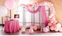 Воздушные шары. Оформление: детский др, свадьба, встреча из роддома