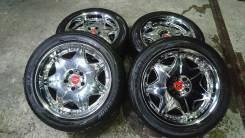 Красивые хромы Bridgestone Lowenzahn R18 8.5j. 8.5x18 5x114.30 ET45