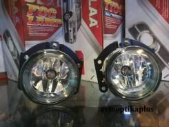 Фара противотуманная. Mitsubishi: Lancer Evolution, L200, Pajero, Lancer, Nativa, ASX, Outlander, Montero Sport, Pajero Sport, Galant Fortis Двигатели...