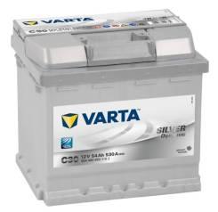 Varta. 54 А.ч., Обратная (левое), производство Европа